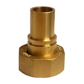 "1"" BS746 Gas Meter Union Adaptor 22mm Without Lug"