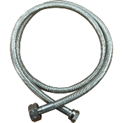 Stainless Steel Braided Pigtail 750mm Butane Nut x W20